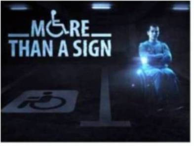 Can-Do-Ability: Holograms to help prevent misuse of disabled parking spots